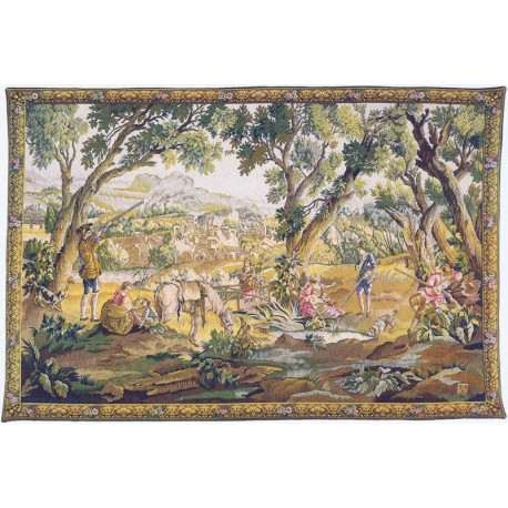 Aubusson tapestry