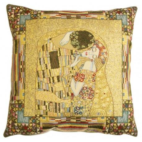 Le Baiser de Klimt, coussin