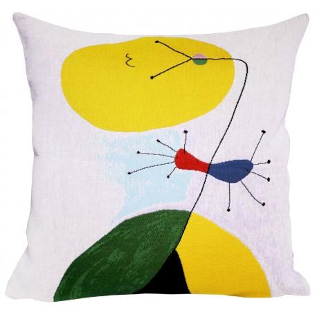 Coussin Miró - Portrait III