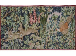 "Tapestry hare ""greenary"""