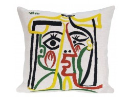 "Coussin Picasso - ""Head of the woman"""