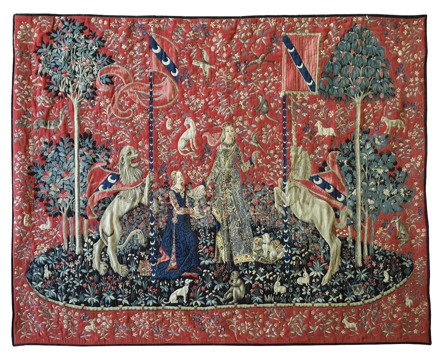 Dame la licorne la tapisserie - Tapisserie dame a la licorne ...