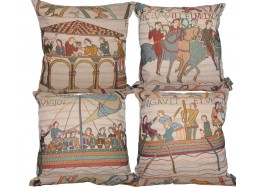 Bayeux - 4 cushions