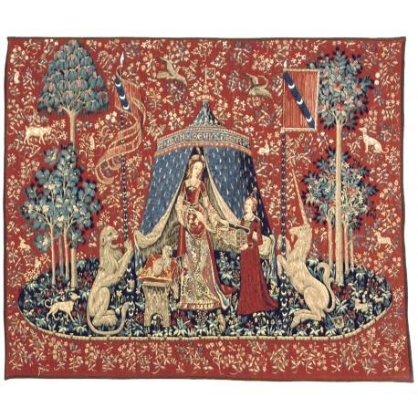 A mon seul désir - tapisserie avec bordure