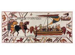 Bayeux tapestry : the fleet of William the conqueror