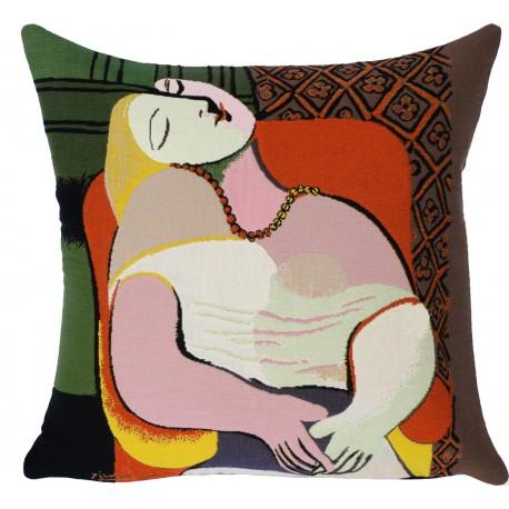 Le rêve, coussin Picasso