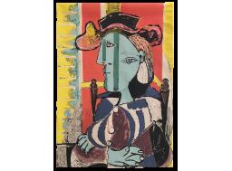 Femme assise aux bras croisés - Picasso