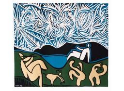 Bacchanale avec chevreau et spectateur, Picasso