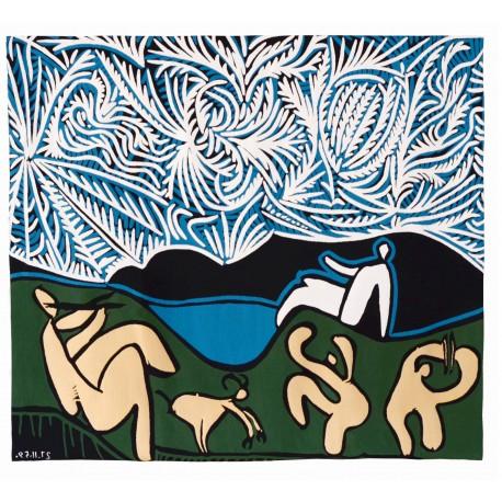 Bachanale avec chevreau et spectateur, Picasso