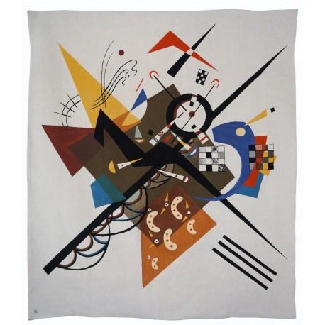 "Tapisserie ""Auf Weiss II"", Kandinsky"