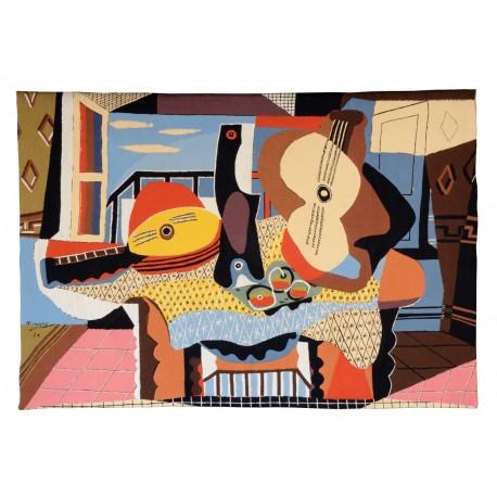 Mandoline et guitare, Picasso