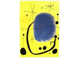 L'Or de l'Azur, Miró (taille réelle)