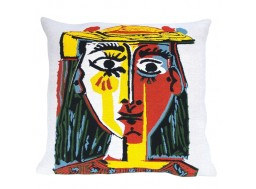 Picasso coussin HEAD OF A WOMAN WITH HAT