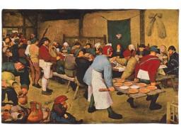 Mariage Paysan de Brueghel