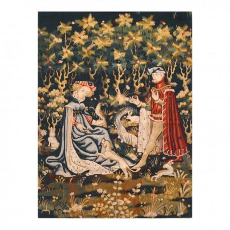Offrande du coeur, tapisserie
