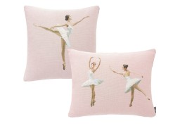 Cushions, dancers, pink