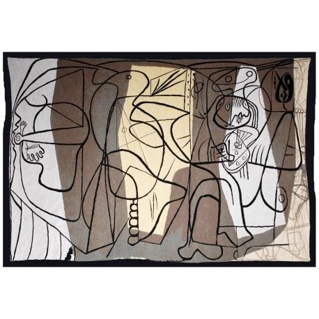 Le peintre et son modèle, Picasso, 1926