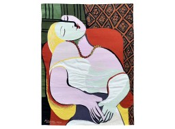 """the dream"", tapestry Picasso"