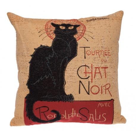 Le Chat Noir Housse de coussin