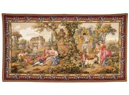 Repos Fontaine, tapestry