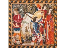 Tapisserie Licorne Blessée
