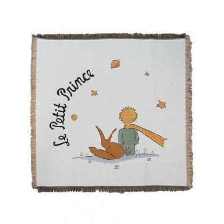 Plaid Petit Prince, renard