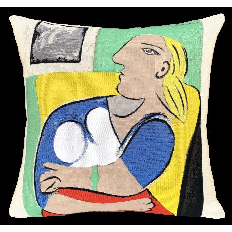 Femme dans un fauteuil jaune, Picasso