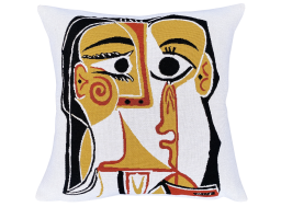 """Cushion """"head of a woman"""", Picasso"""