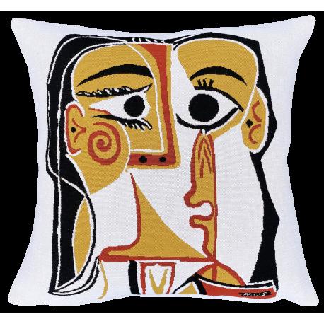 """Housse """"tête de femme"""", Picasso"""