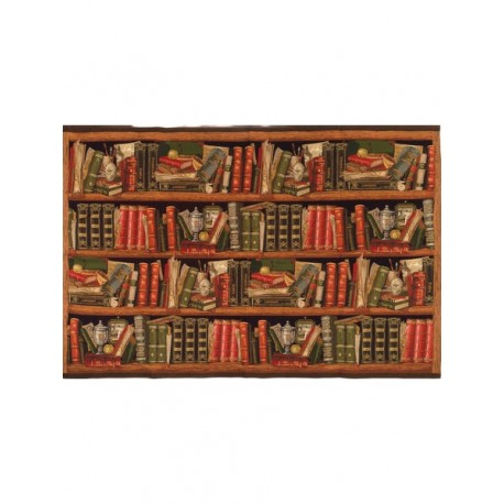 Bibliotheque - tapisserie
