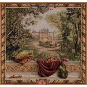 Tapisseries de châteaux, paysages et verdures