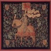 Tapisserie médiévale, moyen-âge...