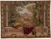 Reproduction de tapisserie murale ancienne de qualité