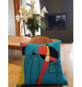 Coussins Picasso, Miró, Magritte