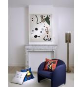 La tapisserie et Miró, des tentures inspirées des toiles de l'Espagnol