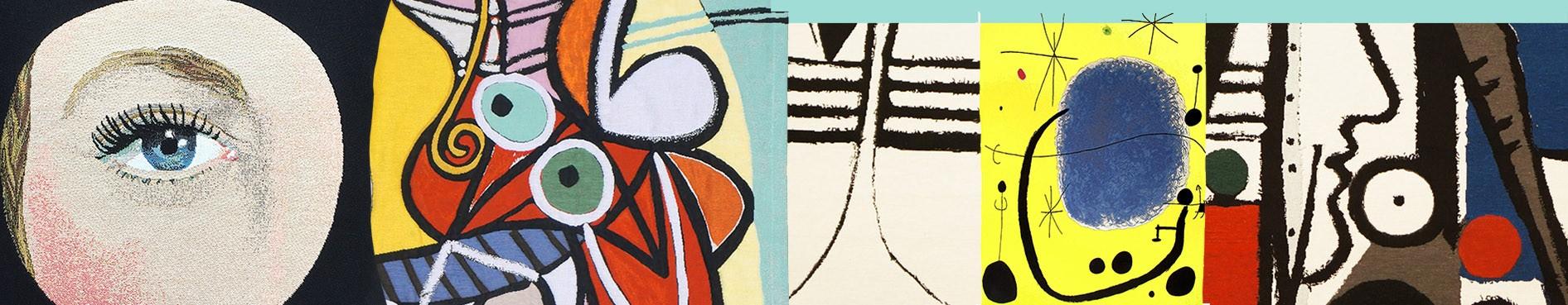 Tapisseries et coussins d'artistes